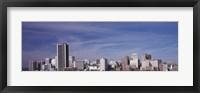 Framed Richmond, Virginia Skyline
