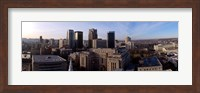 Framed Buildings in a city, Birmingham, Jefferson county, Alabama, USA