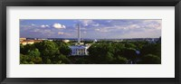 Framed Aerial, White House, Washington DC, District Of Columbia, USA