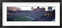 Framed High angle view of a football stadium, Sun Devil Stadium, Arizona State University, Tempe, Maricopa County, Arizona, USA