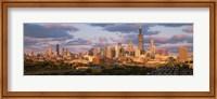 Framed Cityscape, Day, Chicago, Illinois, USA