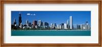 Framed Skyline Chicago IL USA