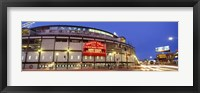 Framed USA, Illinois, Chicago, Cubs, baseball