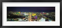 Framed Skyline, Las Vegas, Nevada, USA