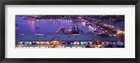 Framed Buildings at a harbor, Inner Harbor, Baltimore, Maryland, USA
