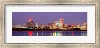 Framed Dusk, Memphis, Tennessee, USA