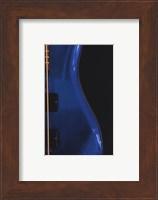 Framed Electric Blue
