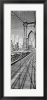 Framed Brooklyn Bridge Manhattan New York City NY USA