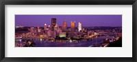 Framed Dusk Pittsburgh PA