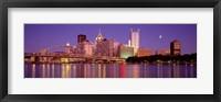 Framed Allegheny River, Pittsburgh, Pennsylvania, USA