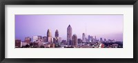 Framed Twilight, Atlanta, Georgia, USA