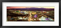 Framed Strip, Las Vegas Nevada, USA