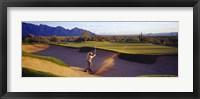 Framed Golf Course Tucson AZ USA