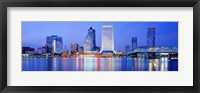 Framed Night, Jacksonville, Florida, USA