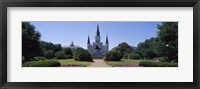 Framed St Louis Cathedral Jackson Square New Orleans LA USA