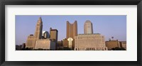 Framed Buildings in a city, Columbus, Franklin County, Ohio, USA
