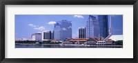 Framed Skyline Jacksonville FL USA