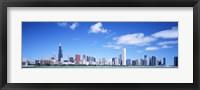 Framed Skyline, Chicago, Illinois, USA