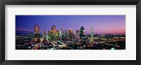 Framed Night, Dallas, Texas, USA