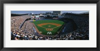 Framed High angle view of a baseball stadium, Yankee Stadium, New York City, New York State, USA