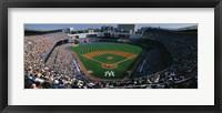 Framed High angle view of a baseball stadium, Yankee Stadium, New York City, New York State, USA