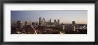 Framed High angle view of a city, Philadelphia, Pennsylvania, USA