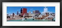 Framed Summer, Chicago, Illinois, USA