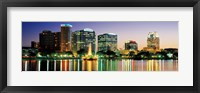 Framed Skyline At Dusk, Orlando, Florida, USA