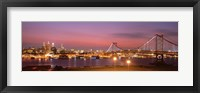 Framed Philadelphia at Night