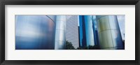 Framed Close up of Buildings in Houston, Texas