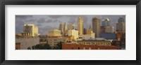Framed Kansas City, Missouri Skyline