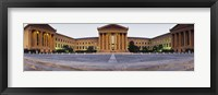 Framed Facade of a museum, Philadelphia Museum Of Art, Philadelphia, Pennsylvania, USA