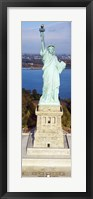 Framed Statue Of Liberty, New York, NYC, New York City, New York State, USA