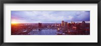Framed Baltimore Maryland USA