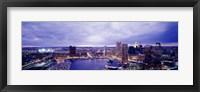 Framed USA, Maryland, Baltimore, cityscape