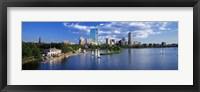 Framed Boston, Massachusetts, USA