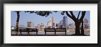 Framed View of Cincinnati OH