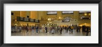 Framed Group of people walking in a station, Grand Central Station, Manhattan, New York City, New York State, USA