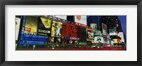 Framed Billboards On Buildings In A City, Times Square, NYC, New York City, New York State, USA