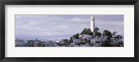 Framed Coit Tower On Telegraph Hill, San Francisco, California, USA