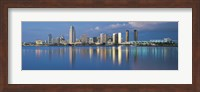 Framed San Diego from the Water