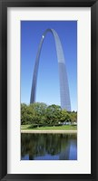 Framed US, Missouri, St. Louis, Gateway Arch
