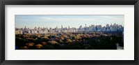 Framed View Over Central Park, Manhattan, NYC, New York City, New York State, USA