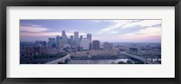 Framed Buildings In A City, Minneapolis, Minnesota, USA
