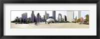 Framed Buildings in a city, Millennium Park, Chicago, Illinois, USA