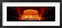 Framed Performers on a stage, Carnegie Hall, New York City, New York state, USA