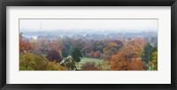 Framed High angle view of a cemetery, Arlington National Cemetery, Washington DC, USA