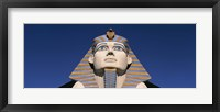 Framed Low angle view of a sphinx, Luxor Hotel Sphinx, Las Vegas, Nevada, USA