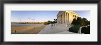 Framed Monument at the riverside, Jefferson Memorial, Potomac River, Washington DC, USA