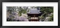 Framed Low angle view of entrance of a park, Japanese Tea Garden, Golden Gate Park, San Francisco, California, USA